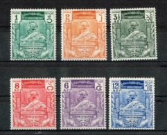 BIRMANIA (UNION OFBURMA), 1949, 75th Anniversary Of UPU 6v MNH - U.P.U.