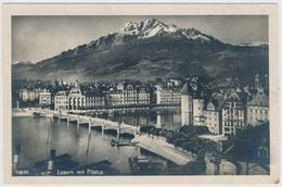 Verlag Globetrotter AG Luzern - 1588 Luzern Mit Pilatus - LU Luzern