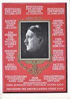 Propaganda Card  BIRTHDAY  1939 - War 1939-45