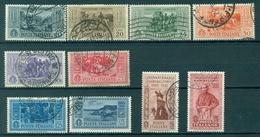 Z330 ITALIA REGNO 1932 Garibaldi, Usati, Serie Completa, Valutazione Sass. € 165, Buone Condizioni - Oblitérés