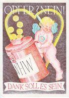 Propaganda Card  NATL.  SOLIDARITY - War 1939-45