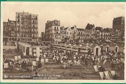 ! - Belgique - Blankenberghe - La Digue Et La Plage - Blankenberge