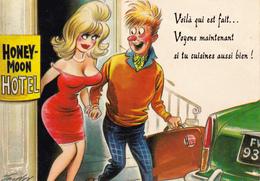 CPSM Grivoise Prostituée Prostitution Hôtel  Humour Illustrateur TAYLOR (2 Scans) - Taylor