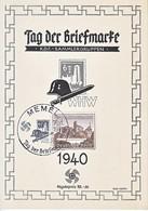 Propaganda Card  DAY OF THE STAMP - War 1939-45