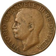 Monnaie, Italie, Vittorio Emanuele III, 10 Centesimi, 1927, Rome, TB, Bronze - 1861-1946 : Royaume