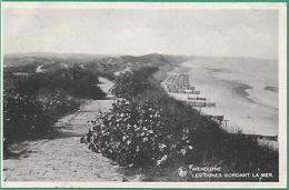 ! - Belgique - Wenduine - Les Dunes Bordant La Mer - Avec TimbreSs COB 425 Et  Taxe COB TX41 - Wenduine