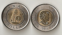 Canada - 2 Dollars 2011 UNC Lemberg-Zp - Canada