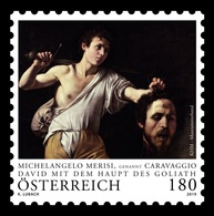 Austria 2019 Mih. 3451 David With The Head Of Goliath. Painting By Caravaggio MNH ** - 2011-2020 Unused Stamps