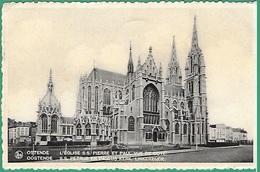 ! - Belgique - Ostende - Eglise St. Pierre Et Paul - Vue De Côté - Oostende