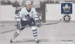 Canada 2017 FDC Toronto Maple Leafs 100 Years Doug Gilmour - 1952-.... Reign Of Elizabeth II