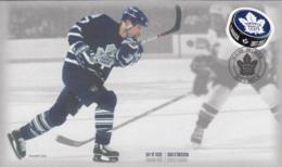 Canada 2017 FDC Toronto Maple Leafs 100 Years Wendel Clark - 1952-.... Reign Of Elizabeth II