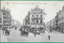 ! - Belgique - Ostende - Boulevard Van Iseghem Et Rue Longue - Oostende