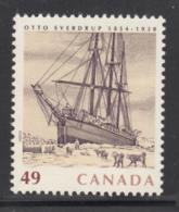 Canada 2004 MNH Sc #2026 49c 'Fram' Sailing Ship Otto Sverdrup - Neufs