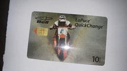 Canada-(b30242)-motocross-(27)-(10$)-tirage-70.800-used Card+1card Prepiad Free - Canada