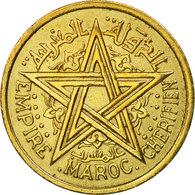 Monnaie, Maroc, Mohammed V, 2 Francs, 1945, Paris, TTB, Aluminum-Bronze, KM:42 - Marruecos