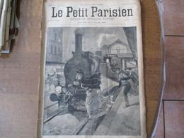 LE PETIT PARISIEN  DU 22 AVRIL 1894 LE DOUBLE SUICIDE DE LA GARE DU BOULEVARD ORNANO,M. CLEMENT FABRICANT DE VELOCIPEDES - 1850 - 1899