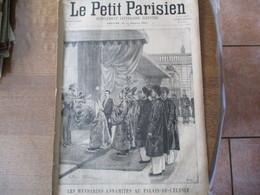LE PETIT PARISIEN DU 6 MAI 1894 LES MANDARINS ANNAMITES AU PALAIS DE L'ELYSEE,JEANNE D'ARC,LE SERGENT TANVIRAY,ABUS DE C - 1850 - 1899