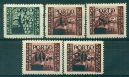 V9206 ITALIA OCCUPAZIONI ISTRIA Litorale Sloveno 1945 Segnatasse, MH* Serie Completa, Val. Cat. € 110, Buone Condizioni - Occup. Iugoslava: Istria