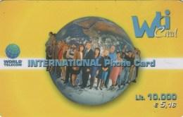 *ITALIA - WTI CARD* - Scheda Usata - Italia