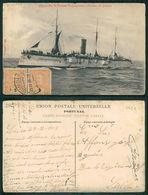 PORTUGAL - OUTROS [ 0425 ] - BARCOS SHIP BATEAU PAQUEBOT STEAMER - FAM MARINHA GUERRA  CRUZADOR  S GABRIEL - Guerra
