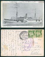 PORTUGAL - OUTROS [ 0430 ] - BARCOS SHIP BATEAU PAQUEBOT STEAMER -  COMPANHIA COLONIAL DE NAVEGAÇÃO MOUSINHO - Steamers