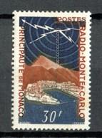 Monaco 1951 Radio Monte Carlo Yvert 378 MLH - Ungebraucht