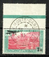 Monaco 1933 Luftpost Yvert A1 Gestempelt - Poste Aérienne