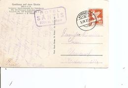 Suisse ( CP De 1932 De Appenzell Vers L'Allemagne à Voir) - Suisse