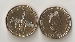 Canada - 1 Dollar 1992 UNC Lemberg-Zp - Canada