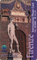 *ITALIA* - WTI CARD (FIRENZE) - Scheda NUOVA (MINT) - Italia