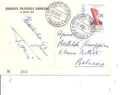 Italie ( CP De 1952 De Padoue Vers Bolzano à Voir) - 6. 1946-.. Republic