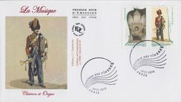 Enveloppe   FDC  1er   Jour   FRANCE   MUSIQUE  DES  TIMBRES  2010 - 2010-....