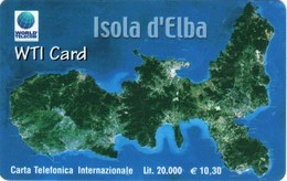*ITALIA* - WTI CARD (ISOLA D'ELBA) - Scheda NUOVA (MINT) - Italy