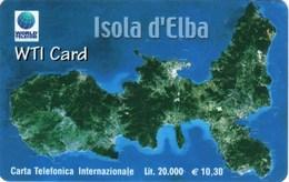 *ITALIA* - WTI CARD (ISOLA D'ELBA) - Scheda NUOVA (MINT) - Italia