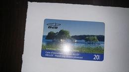 Canada-(bel-b208gar20)-gananoque Thousand Islands Ontario-(37)-(20$)-used Card+1card Prepiad Free - Canada