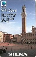 *ITALIA* - WTI CARD (SIENA) - Scheda Usata - Italy