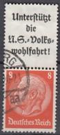 DR S 131, Gestempelt, Hindenburg 1936/37 - Zusammendrucke
