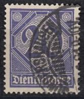 DR Dienst 26, Gestempelt, Geprüft, 1920 - Dienstpost