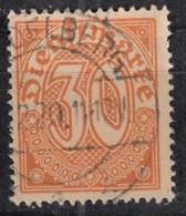 DR Dienst 27, Gestempelt, Geprüft, 1920 - Dienstpost