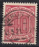 DR Dienst 28, Gestempelt, Geprüft, 1920 - Dienstpost