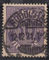 DR Dienst 29, Gestempelt, Geprüft, 1920 - Dienstpost