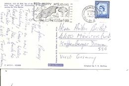 Man ( CP De 1967 De Ramsey Vers L'Allemagne à Voir) - Isle Of Man