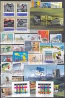 SCHWEIZ  Jahrgang 2005, Gestempelt, Komplett 1906-1950, Block 38+39 - Used Stamps