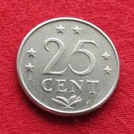 Netherlands Antilles 25 Cents 1971 KM# 11  Antillen Antilhas Antille Antillas - Antilles Neérlandaises
