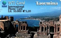 *ITALIA* - WTI CARD (TAORMINA) - Scheda NUOVA (MINT) - Italia