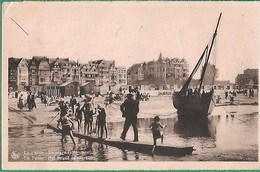 ! - Belgique - La Panne (De Panne) - La Plage Coté Ouest - Avec Timbre COB 714 - De Panne