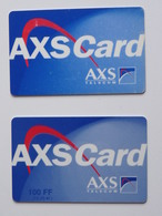 AXS Card  2 Différentes - France