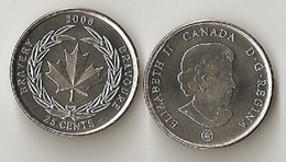 Canada - 25 Cents 2006 UNC Medal Of Bravery Lemberg-Zp - Canada