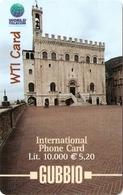 *ITALIA* - WTI CARD (GUBBIO) - Scheda PROTOTIPO - Italy