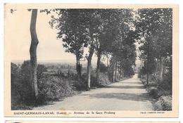 42 - SAINT GERMAIN LAVAL - Avenue De La Gare Pralong - Ed. Combier - Saint Germain Laval